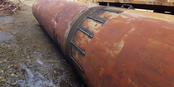 Rury stalowe DN 1420x 8 z demontażu